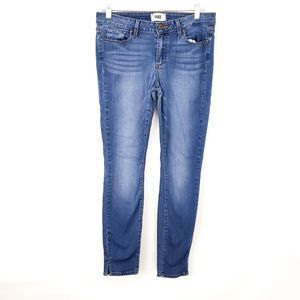 Paige Verdugo Ankle Skinny Jeans Mid-wash size 30